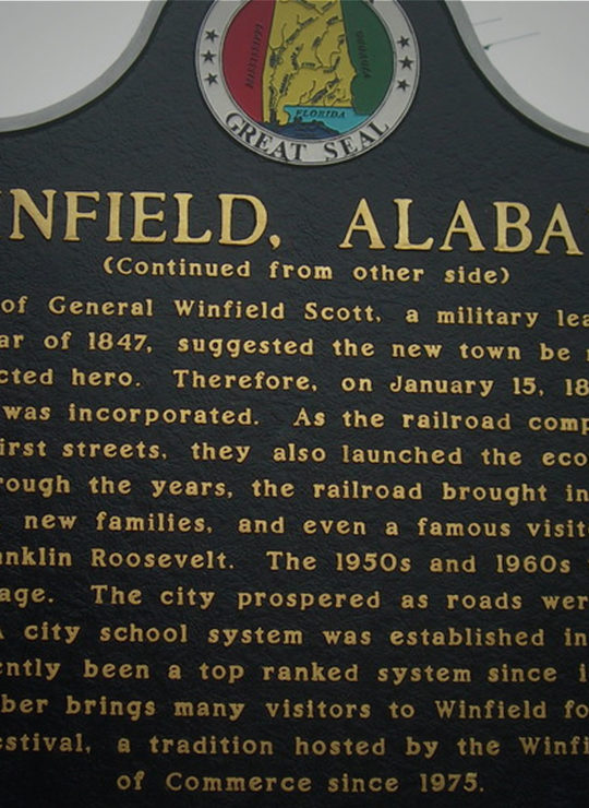 Winfield, Alabama
