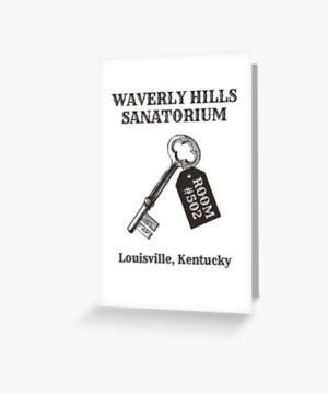 Waverly Hills Sanatorium Room 502 Greeting Card