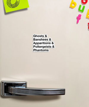 Ghost List Magnet