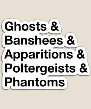 Ghost List Magnet
