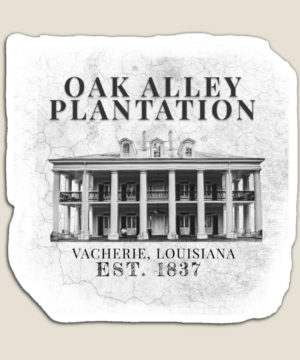 Oak Alley Plantation Magnet