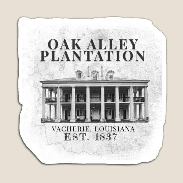 Oak Alley Plantation, Vacherie, Louisiana, Est. 1837