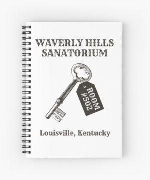 Waverly Hills Sanatorium Room 502 Spiral Notebook