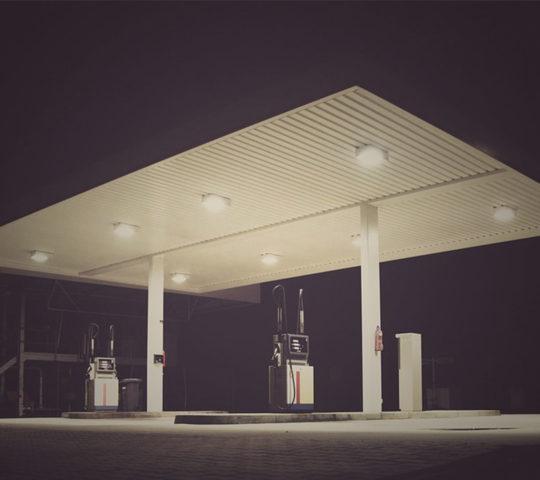 Exxon Station