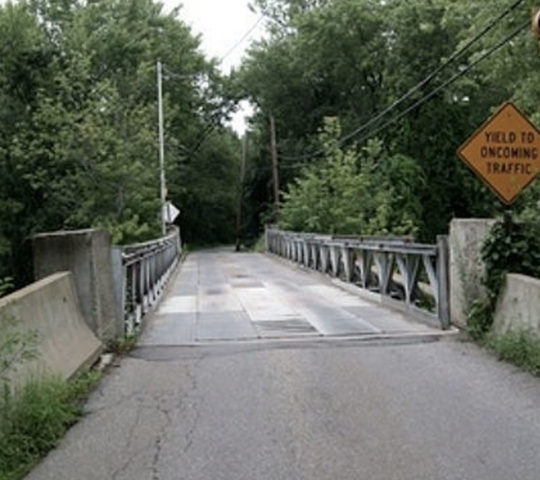 Bridge in Refuge, Alabama